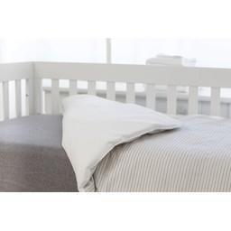 Bouton Jaune Bouton Jaune - Duvet Cover for Crib, Mon Petit Prince, Large Stripe