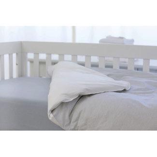 Bouton Jaune Bouton Jaune - Duvet Cover for Crib, Mon Petit Prince, Small Stripe