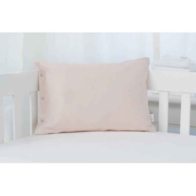 Bouton Jaune Bouton Jaune - 12x16 Inches Organic Cotton Pillow Cover, Vintage Pink