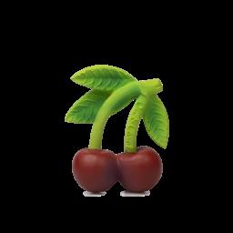 Oli & Carol Oli & Carol - Teether Toy, Mery the Cherry
