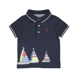 Mayoral Mayoral - Polo Shirt, Navy