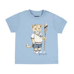 Mayoral Mayoral - Animal T-Shirt, Sky