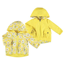 Mayoral Mayoral - Reversible Windbreaker, Yellow