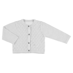 Mayoral Mayoral - Knitted Vest, White