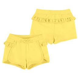 Mayoral Mayoral - Ruffle Short, Yellow