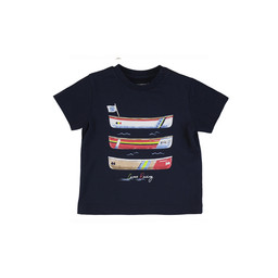 Mayoral Mayoral - Boats T-Shirt, Navy