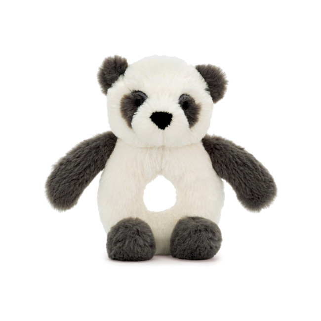 Jellycat Jellycat - Harry Panda Ring Rattle 6""