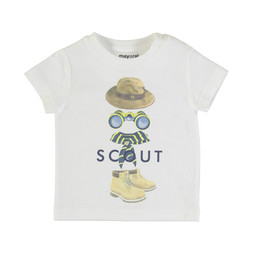 Mayoral Mayoral - Scout T-Shirt, White