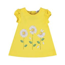 Mayoral Mayoral - Flowers Dress, Yellow