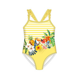 Mayoral Mayoral - Serigraphy Swimsuit, Yellow