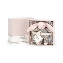 Jellycat Jellycat - Bedtime Bunny Muslin and Toy Set 6""