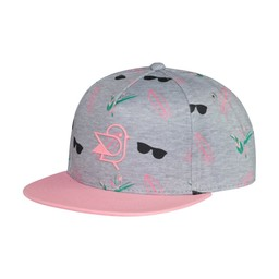 Birdz Children & Co Birdz - Casquette Coconut Surf, Rose Gris
