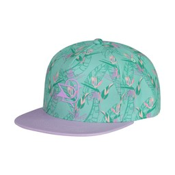 Birdz Children & Co Birdz - Paradise Cap, Flowers Green Purple