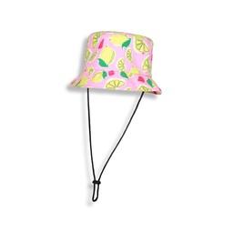 Birdz Children & Co Birdz - Bucket Hat, Pink Lemonade