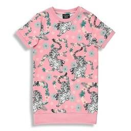 Birdz Children & Co Birdz - Jungle Dress, Flamingo Tiger