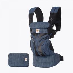Ergobaby Ergobaby - Omni 360 Cool Air Baby Carrier, Indigo Weave Mesh