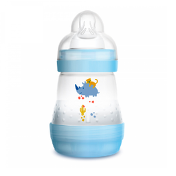 MAM MAM - Anti-Colic Baby Bottle, Blue, 5 oz