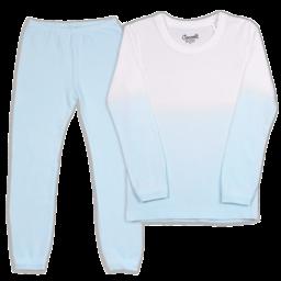 Coccoli Coccoli - 2 Piece Pyjama, Blue Dip Dye