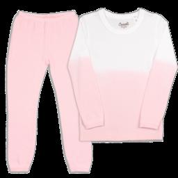 Coccoli Coccoli - 2 Piece Pyjama, Pink Dip Dye