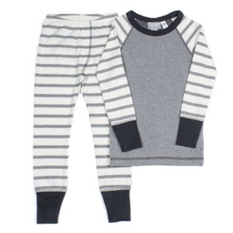 Coccoli Coccoli - 2 Piece Pyjama, Pewter Heather