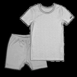 Coccoli Coccoli - 2 Piece Short Pyjama, Grey Dots
