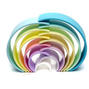 Dëna Dëna - Large Rainbow Toy, Pastel