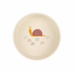 Lässig Lässig - Bamboo Bowl for Baby, Snail
