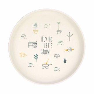 Lässig Lässig - Bamboo Plate for Baby, Tractor
