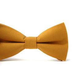 Mini Swag Mini Swag - Adjustable Bow Tie, Mustard