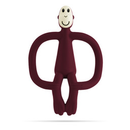 Matchstick Monkey Matchstick Monkey - Teething Toy, Claret