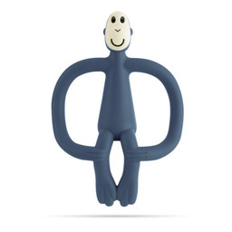 Matchstick Monkey Matchstick Monkey - Teething Toy, Airforce Blue
