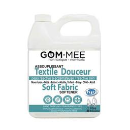 Gom.mee GOM.MEE - Assouplissant Textile Douceur pour Peaux Réactives, 1L