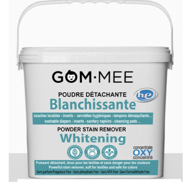 Gom.mee GOM.MEE - Oxy Hypoallergenic Whitening Stain Remover Powder, 2kg