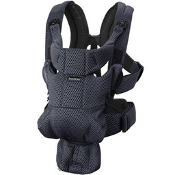 BabyBjörn BabyBjörn - Free Baby Carrier, Anthracite Mesh