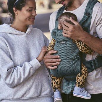 BabyBjörn BabyBjörn - Free Baby Carrier, Sage Mesh