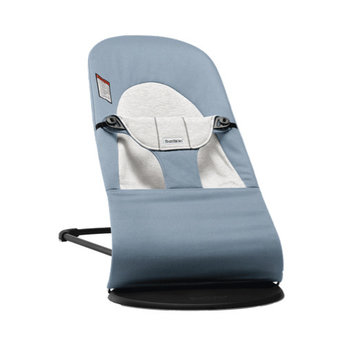 BabyBjörn BabyBjörn - Bouncer Balance Soft, Cotton/Jersey Blue and Grey