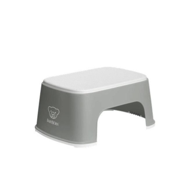 BabyBjörn BabyBjörn - Step Stool, Grey and White