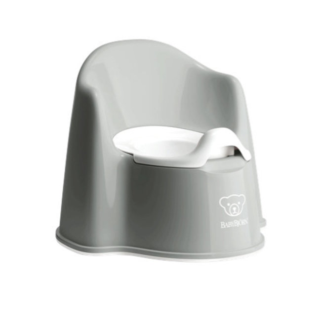 BabyBjörn BabyBjörn - Potty Chair, Grey and White