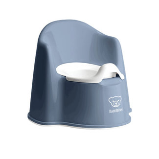 BabyBjörn BabyBjörn - Potty Chair, Deep Blue and White