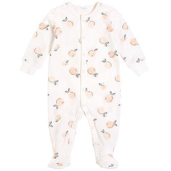 Petit Lem Petit Lem - Knitted Sleeper, White Peaches