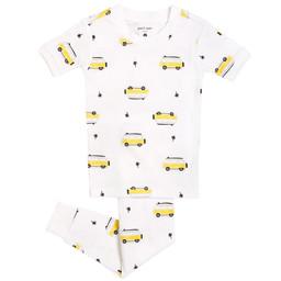Petit Lem Petit Lem - Pyjama Set with Knitted T-Shirt and Pants, Surfer Van