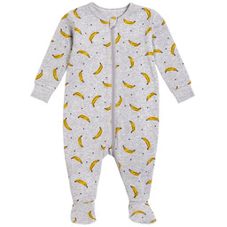 Petit Lem Petit Lem - Knitted Sleeper, Banana