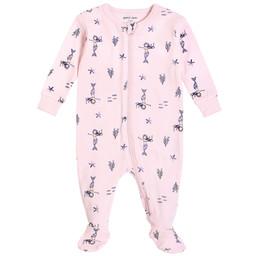 Petit Lem Petit Lem - Pyjama à Pattes en Tricot, Sirènes