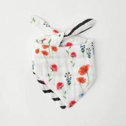 Little Unicorn Little Unicorn - Cotton Muslin Reversible Bandana Bib, Wild Mums