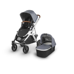 UPPAbaby UPPAbaby Vista 2018 - Poussette Base Aluminium, Cuir Brun
