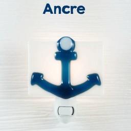 Veille Sur Toi Veille sur Toi - Glass Nightlight Anchor