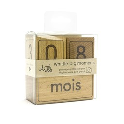Whittle Wood - Whittle Big Moments Wooden Cubes