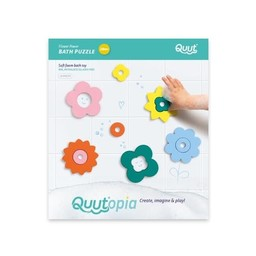 Quut QUUT - Bath Puzzle, Flower Power