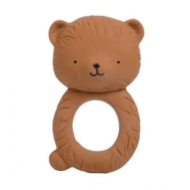 A Little Lovely Company A Little Lovely Company - Teething Ring, Bear