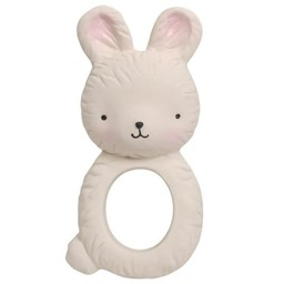 A Little Lovely Company A Little Lovely Company - Teething Ring, Bunny